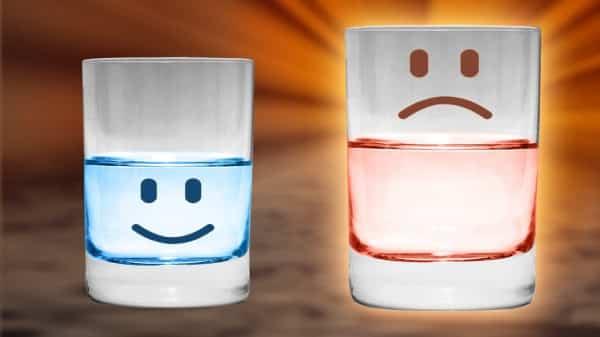 copo cheio ou vazio?